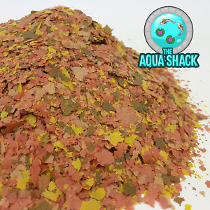 Energy Flakes Premium Fish Food for Tropical & Coldwater w/ Spirulina & Plankton