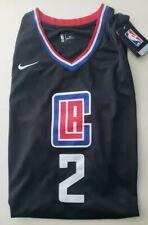Kawhi Leonard Black Los Angeles Clippers Jersey Size XXXL 56 Swingman