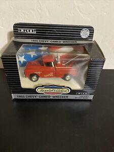 ERTL 1955 Chevy Cameo Wrecker Tow Truck Deutmeyer Bros. 1/43 Scale Die-Cast