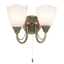 Endon Lighting Haughton 2lt wall 60W SW - antique - 601-2AN
