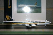 BigBird/Aeroclassics 1:400 Singapore Airlines Boeing 747-300 N116KB Die-Cast