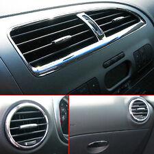 Seat Leon 1P Luftauslässe Luftdüsen Dekor Chrom Glanz