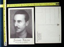 1948 Cartolina Politica GERVASIO FEDERICI  Cerreto Laziale  Democrazia Cristiana