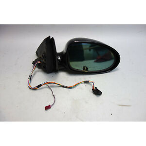 2000-2003 BMW E39 M5 ///M Right Power-Fold Outside Side Mirror Black 2 OEM