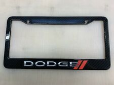 Au-Tomotive Gold Genuine Product Dodge Challenger Front License Plate Frame Logo on Mirror Stainless Steel INC