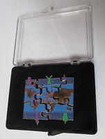 Coffret de 6 Pin's média / livre Peuples et horizons (puzzle complet)