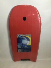 Wham-O Boogie Board Bodyboard Size 33 Inch Red Basic Leash Crescent Tail New