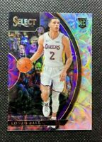 2017-18 Panini Select Lonzo Ball Silver Scope Prizm Rookie RC