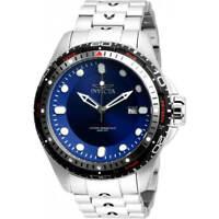 Invicta Men's Watch Hydromax Automatic Blue Dial Silver Tone Bracelet 32236