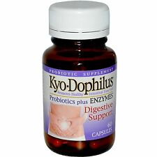 Kyolic, Kyo Dophilus, Probiotics Plus Enzymes, 60 Caps - Wakunaga