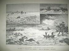 ORAGES INONDATIONS MARSEILLE HERAULT ST-THIBERY FLORENSAC PEINTRE DELACROIX 1890
