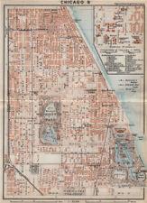 CHICAGO city plan. South Side Woodlawn Washington/Jackson/Hyde Park 1909 map