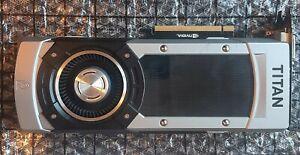 6GB GTX TITAN BLACK GPU - NO BOX OR ACCESSORIES - JUST VIDEO CARD