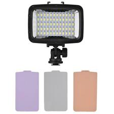 Underwater 60 LEDs Video Light Fill-in Lamp Dimmable for Canon Nikon Camera