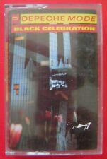 "DEPECHE MODE "" BLACK CELEBRATION "" K7 AUDIO VIRGIN/FRANCE N°50436/1986/NEW WAVE"