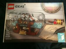 LEGO 21313 Ideas Ship in a Bottle FACTORY SEALED MINT NIB