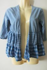 Vigorella blue top, one size, NWOT