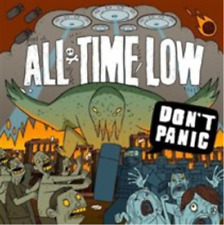 All Time Low-Don't Panic  CD NEW