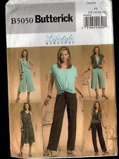 Uncut Easy Butterick Wardrobe 5050: Misses' Vest/Top/Skirt/Trousers Sizes 16-22