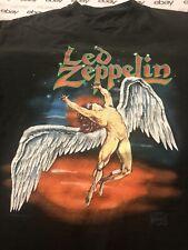 Vtg 90's Led Zeppelin 1990 Concert T- Shirt L EUC Single Stitch