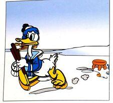 LE 100 RARE Disney Pin✿Donald Duck Comic Strip Anniversary Wood Ice Fishing Pole