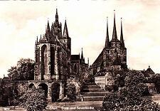 Dom , Erfurt  , DDR ,ungelaufene AK