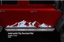 pedal slip resistent mat panel 2pcs FOR 1/10 TRAXXAS TRX4 TRX-4