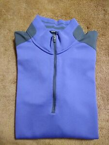 Nike Golf Tour Performance Dri Fit 1/4 Zip Pullover ⛳  Men's Medium Violet