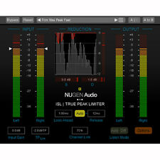Nugen Audio ISL 2 DSP Extension Mac PC AAX VST AU Software Plug-In Download