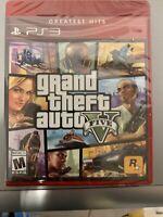 Grand Theft Auto V GTA 5 [Sony PlayStation 3 2013] PS3 **Brand New**