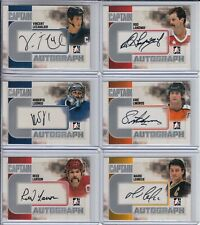 2011-12 ITG Captain-C Autographs Silver #ARL Rod Langway SET BREAK