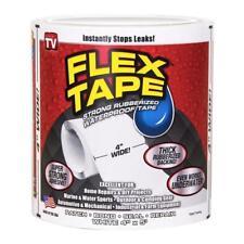 """Flex Seal TFSWHTR0405 Waterproof Repair Tape, White, 4"""" x 5'"""