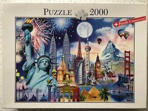 """Historic Sights"" - 2000 pc Jigsaw Puzzle from Blatz"