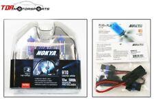 NOKYA Halogen Light Bulbs+Wire Harnesses H10 9145 Cosmic White 5000K 55W