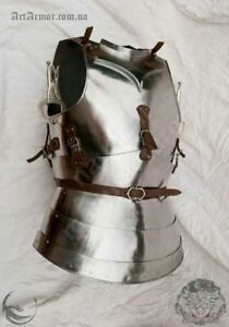 Armor Breastplate - Gothic Harness jacket Solid Steel Medieval Armor Jacket Gift