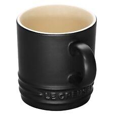 Le Creuset Stoneware Tazza da caffè espresso 100 ml-Nero Satinato NUOVO-CONSEGNA VELOCE