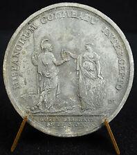 Médaille Levée du siège de Guise par les espagnols Espagne 1650 Louis XIV medal