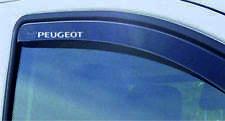 PEUGEOT WIND DEFLECTOR STICKERS x 2 208 207 308 GTI GT SPORT