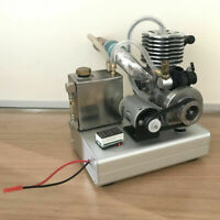 Mini 2-Stroke Gasoline Engine Model Toy Petrol Engine Mixture Nitro
