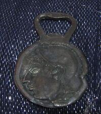 Wonderful bronze tone metal Greek inspired bottle opener very decorative