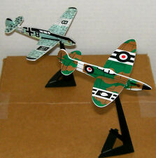 Ww Ii Inspired Fighter Planes Toy Figure Cake Topper Figurine w/ Stand Lot #3