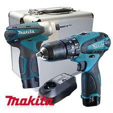 Makita DK1493 Cordless 10.8V 1.3Ah TD090DWE HP330DWE Combo Set / 220V Charger