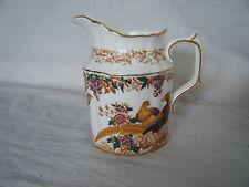 C4 Porcelain Royal Crown Derby Olde Avesbury Tall Cream Jug 12x12cm 1D3E