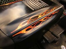 Flamme Stickers - True Fire Pinstripe - pour John Deere Murray Tondeuse - 4pc