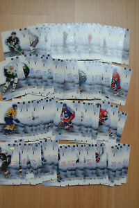 SET 2001/02 UD MASK 130 CARTES NHL