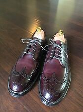 New Alden 975 Color 8 Shell Cordovan Size 9D Longwing Blucher LWB Barrie J Crew
