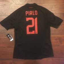 2008/09 AC Milan Third Jersey #21 PIRLO XL S/S Player Issue Adidas NEW