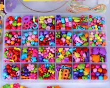 Colorful Kit Craft Make Own Beads Jewellery Box Set DIY For Girls Kids Children