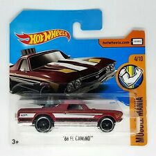 Hot Wheels '68 El Camino Modellino Auto Automobile Muscle Mania 4/10 Die-Cast