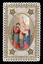 santino merlettato-holy card-canivet PRESENTAZIONE DI GESU' AL TEMPIO